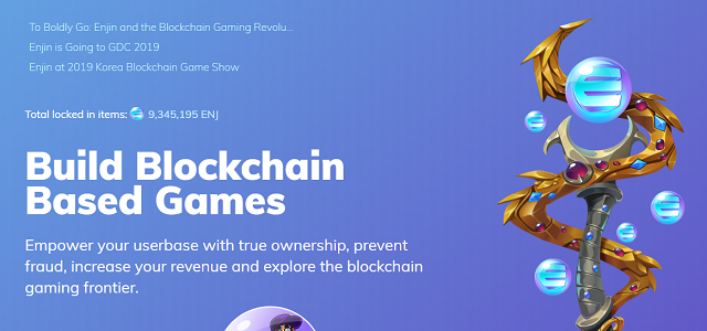 The official site of Enjin Coin.