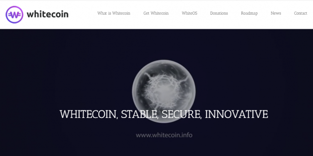 The best cryptocurrency April 13, 2019 - WhiteCoin