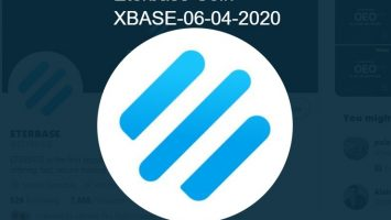 Here is the Crypto news, and the best cryptocurrency to invest according to the CoinMarketCap - Eterbase Coin, XBASE-06-04-2020 grew in price over 24 hours by 124.54%.