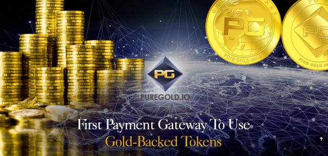 Лучшая криптовалюта 14 апреля 2019 - Puregold Token