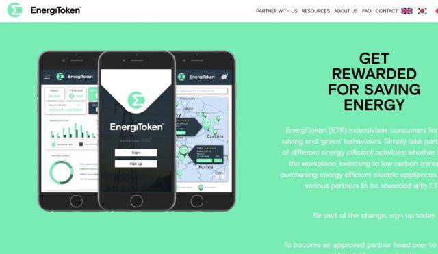 Лучшая криптовалюта 16 апреля 2019 - EnergiToken