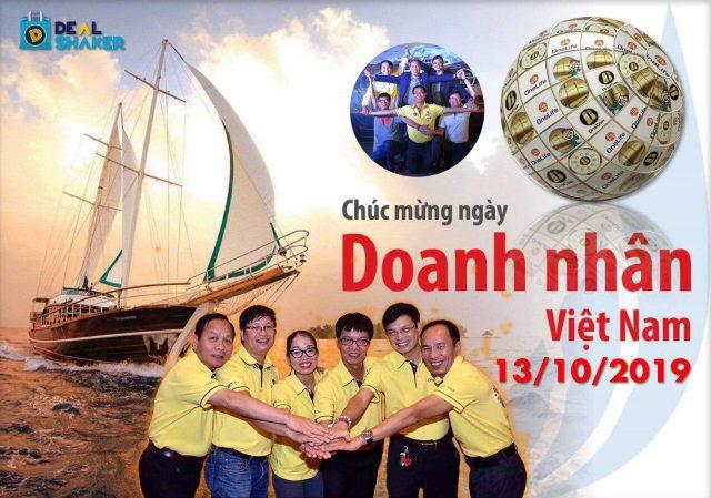 Oct. 13, 2019, is the Vietnam Entrepreneurs