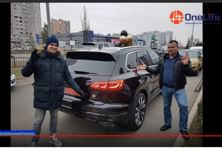 Volkswagen Touareg за 50% ONE, ноябрь 2019